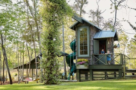 Gorgeous Backyard Playground Kids Design Ideas 11