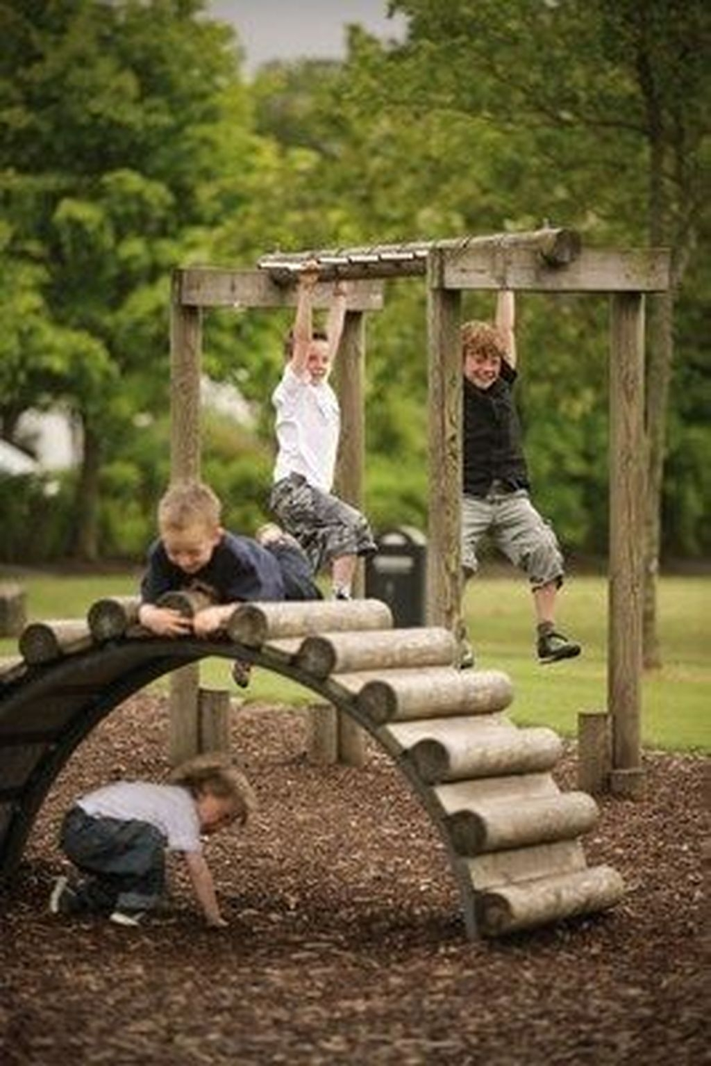 Gorgeous Backyard Playground Kids Design Ideas 14