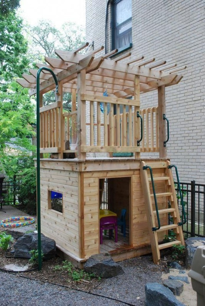 Gorgeous Backyard Playground Kids Design Ideas 20