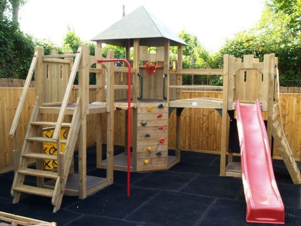Gorgeous Backyard Playground Kids Design Ideas 22