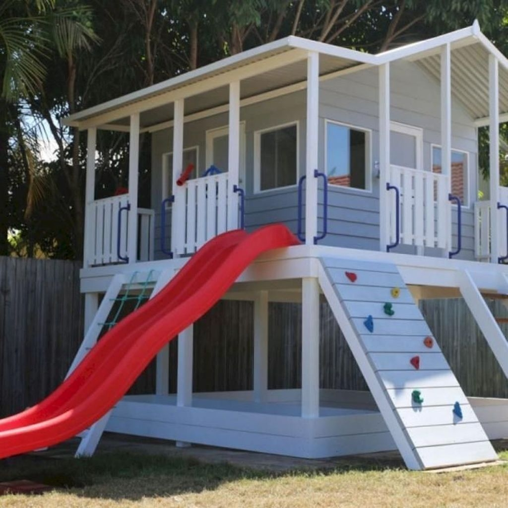 Gorgeous Backyard Playground Kids Design Ideas 23