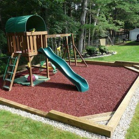 Gorgeous Backyard Playground Kids Design Ideas 33