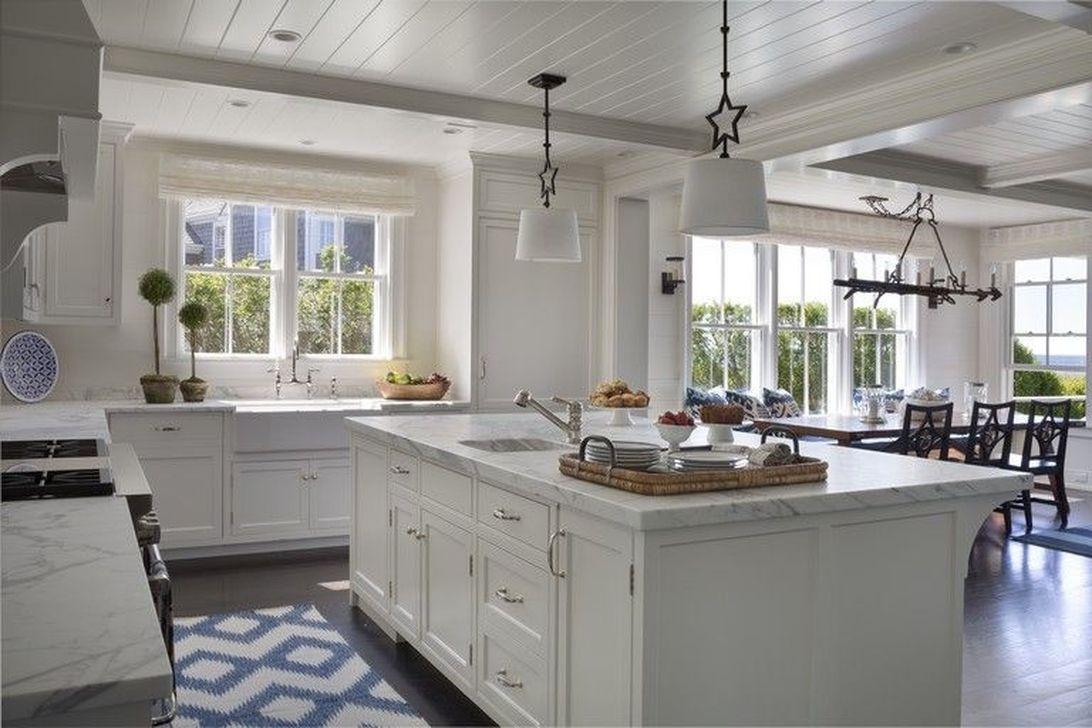 Gorgeous Coastal Kitchen Design Ideas 30