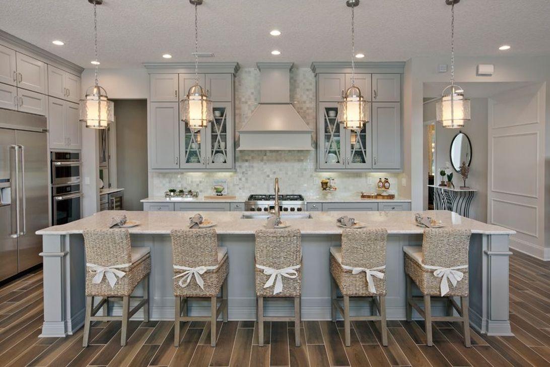48 Gorgeous Coastal Kitchen Design Ideas - PIMPHOMEE