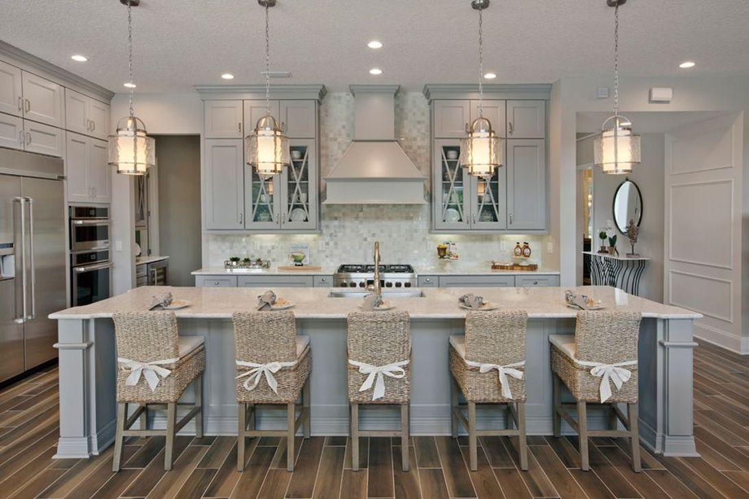 Gorgeous Coastal Kitchen Design Ideas 39