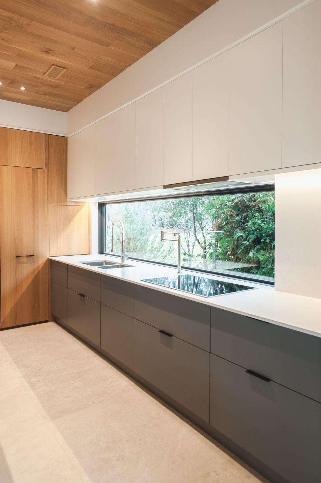 Inspiring Dark Grey Kitchen Design Ideas 04