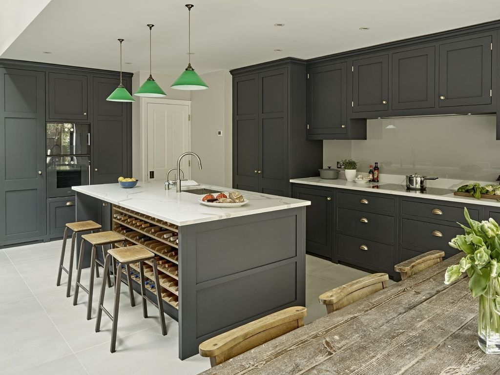 Inspiring Dark Grey Kitchen Design Ideas 06