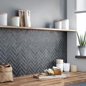 Inspiring Dark Grey Kitchen Design Ideas 12