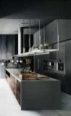 Inspiring Dark Grey Kitchen Design Ideas 19