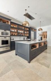 Inspiring Dark Grey Kitchen Design Ideas 30