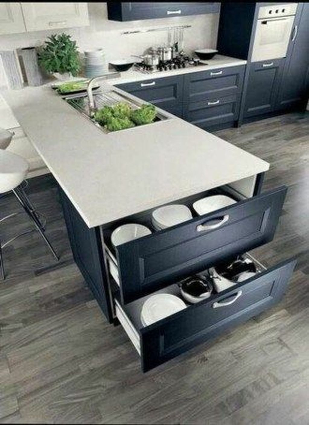Inspiring Kitchen Storage Design Ideas 23