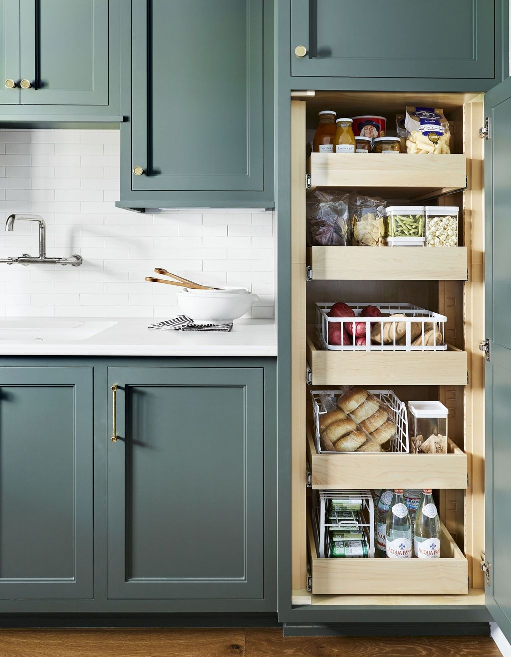 Inspiring Kitchen Storage Design Ideas 24