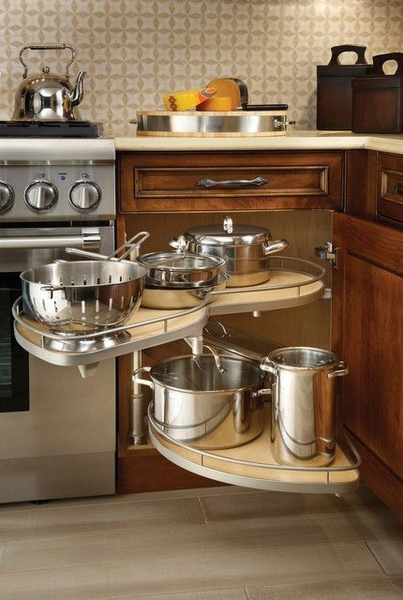 Inspiring Kitchen Storage Design Ideas 35