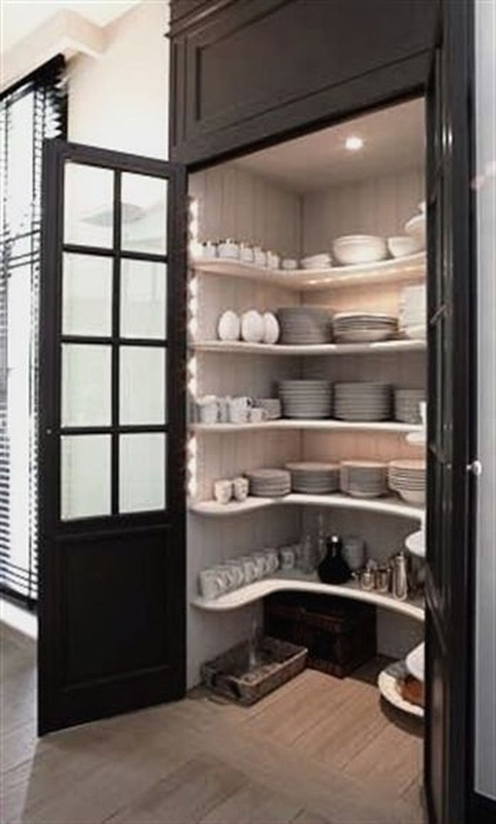 Inspiring Kitchen Storage Design Ideas 37