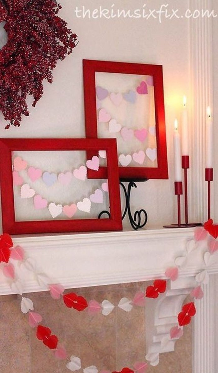 Lovely Valentine Home Decor Ideas For Couples 24