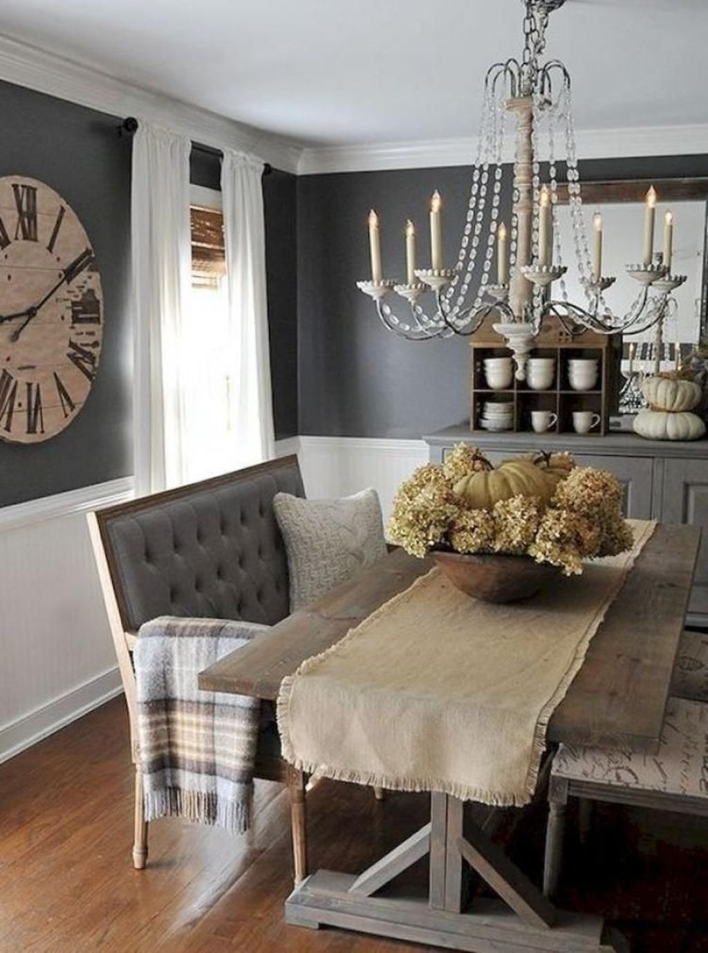 Popular Farmhouse Dining Room Design Ideas Trend 2019 05