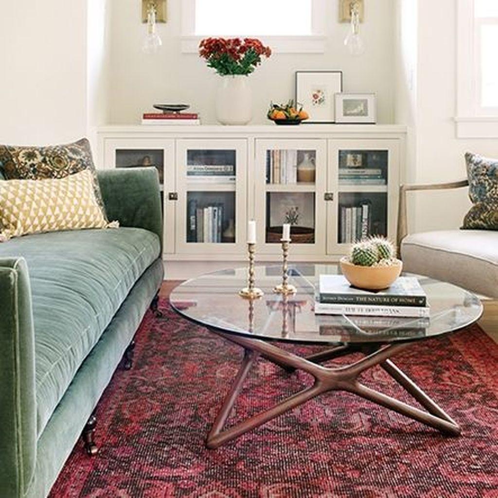 Romantic Living Room Decor With Valentine Themes 27