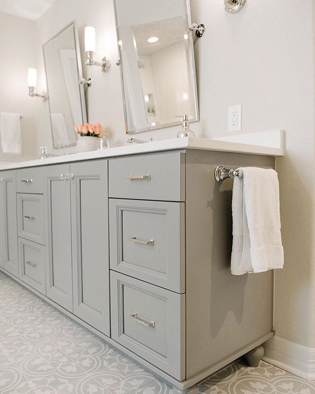 Stunning Bathroom Mirror Decor Ideas 09