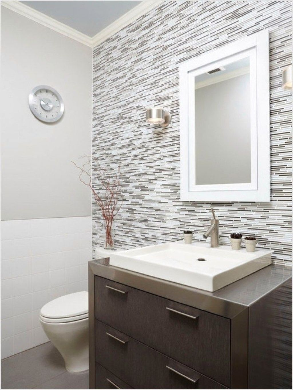 Stunning Bathroom Mirror Decor Ideas 27