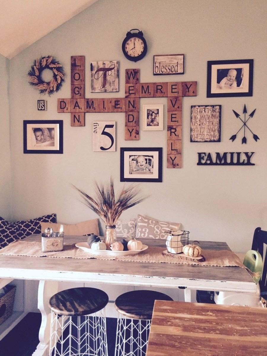 Stunning Farmhouse Dining Room Decoration Ideas 20