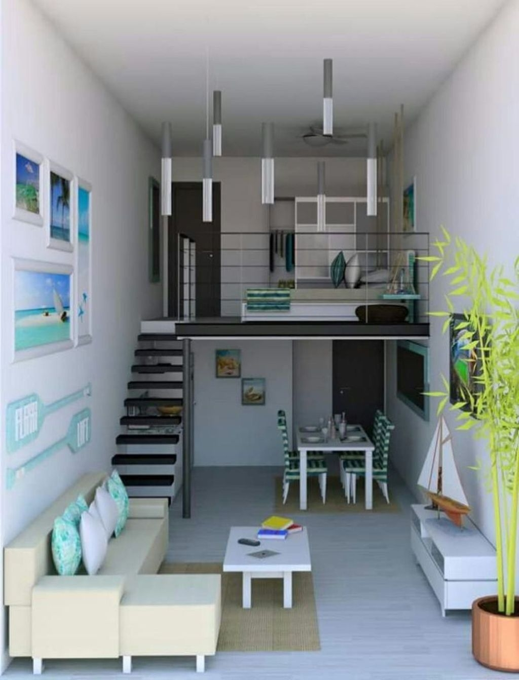 Stunning Tiny House Design Ideas 41