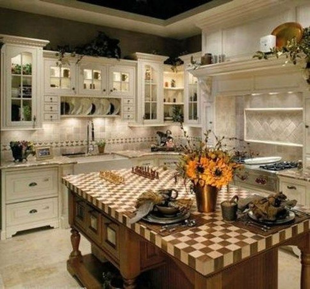 The Best French Country Style Kitchen Decor Ideas 14