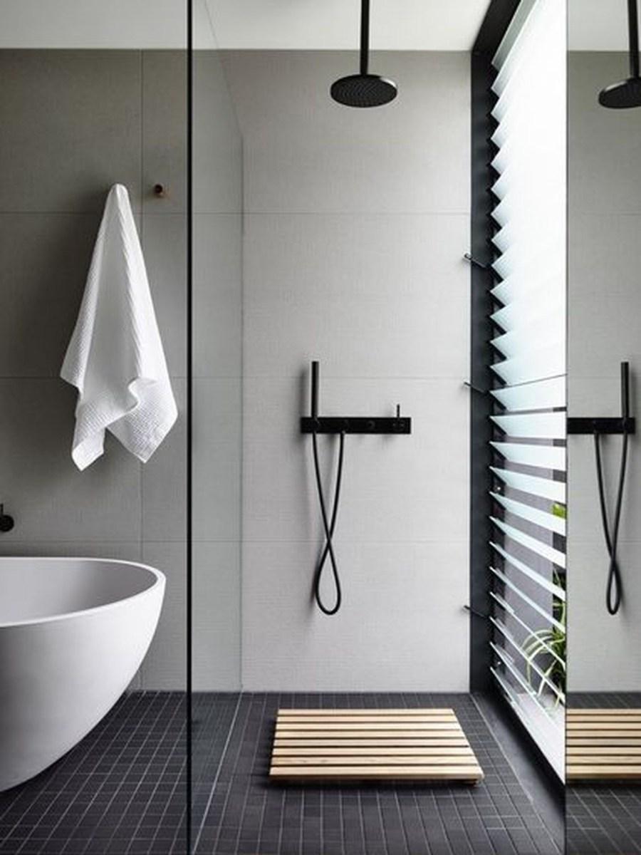 The Best Ideas To Creating Cozy Minimalist Bathroom 05