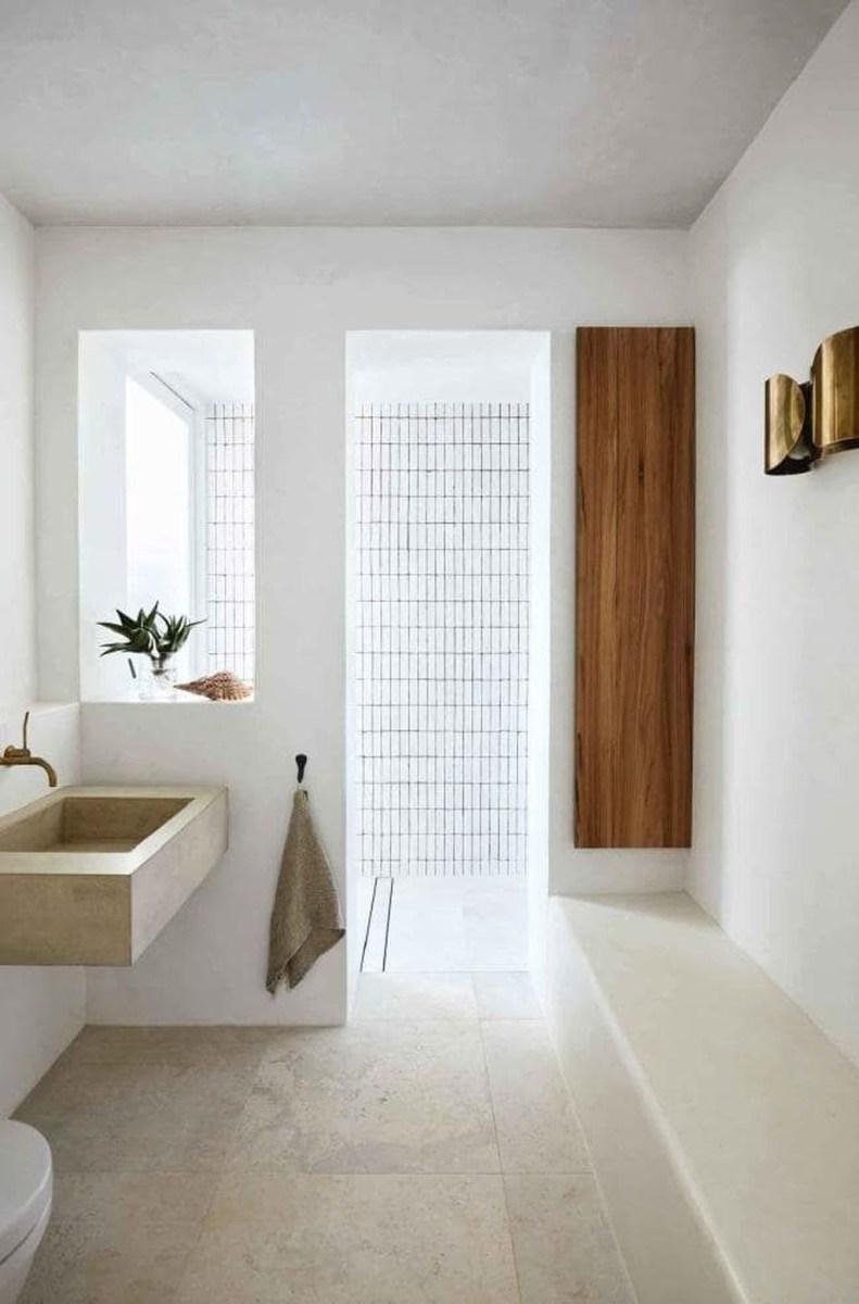 The Best Ideas To Creating Cozy Minimalist Bathroom 07