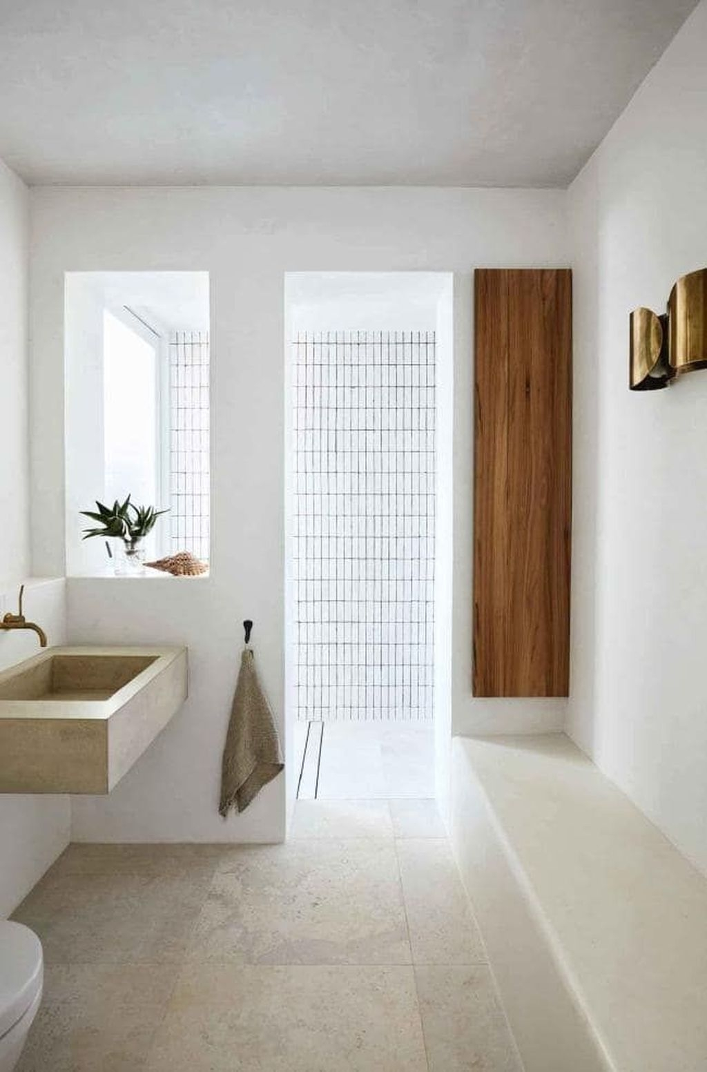 The Best Ideas To Creating Cozy Minimalist Bathroom 07