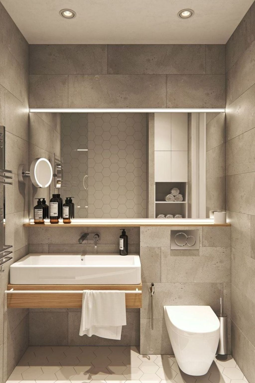 The Best Ideas To Creating Cozy Minimalist Bathroom 13