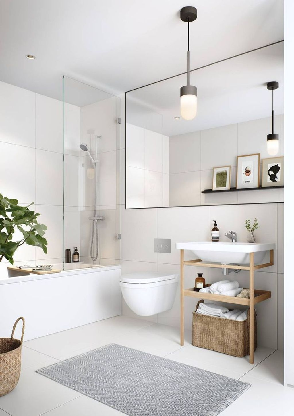 The Best Ideas To Creating Cozy Minimalist Bathroom 39