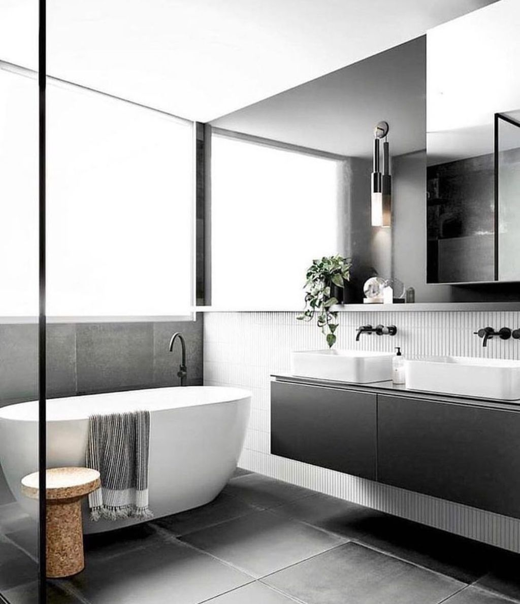 The Best Ideas To Creating Cozy Minimalist Bathroom 46