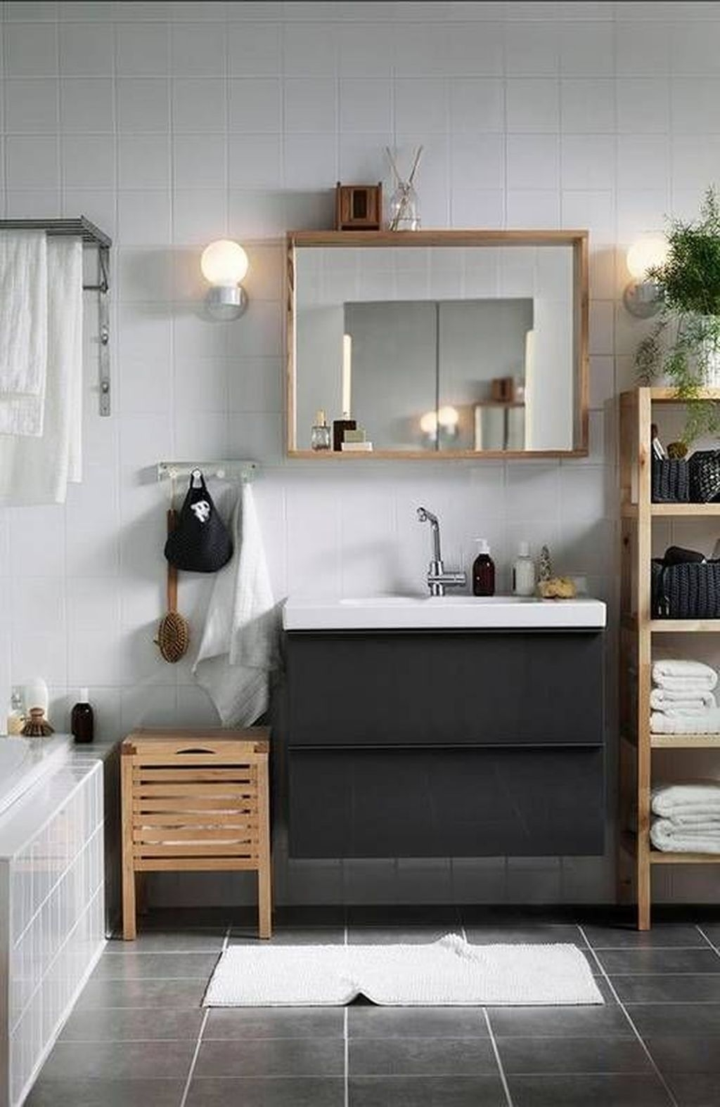 The Best Ideas To Creating Cozy Minimalist Bathroom 48