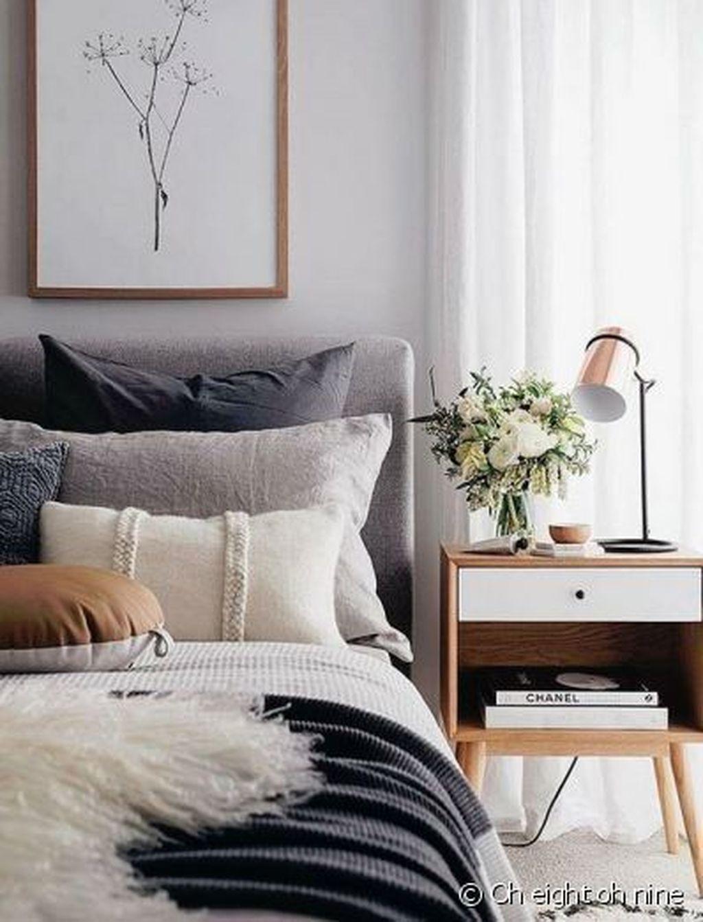 The Best Scandinavian Bedroom Interior Design Ideas 42