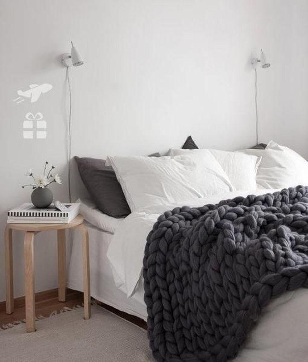 The Best Scandinavian Bedroom Interior Design Ideas 44