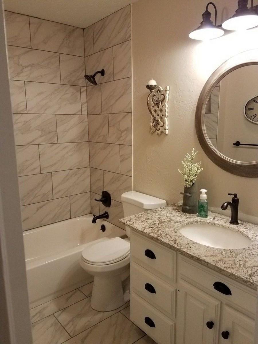 Totally Adorable Small Bathroom Decor Ideas 35