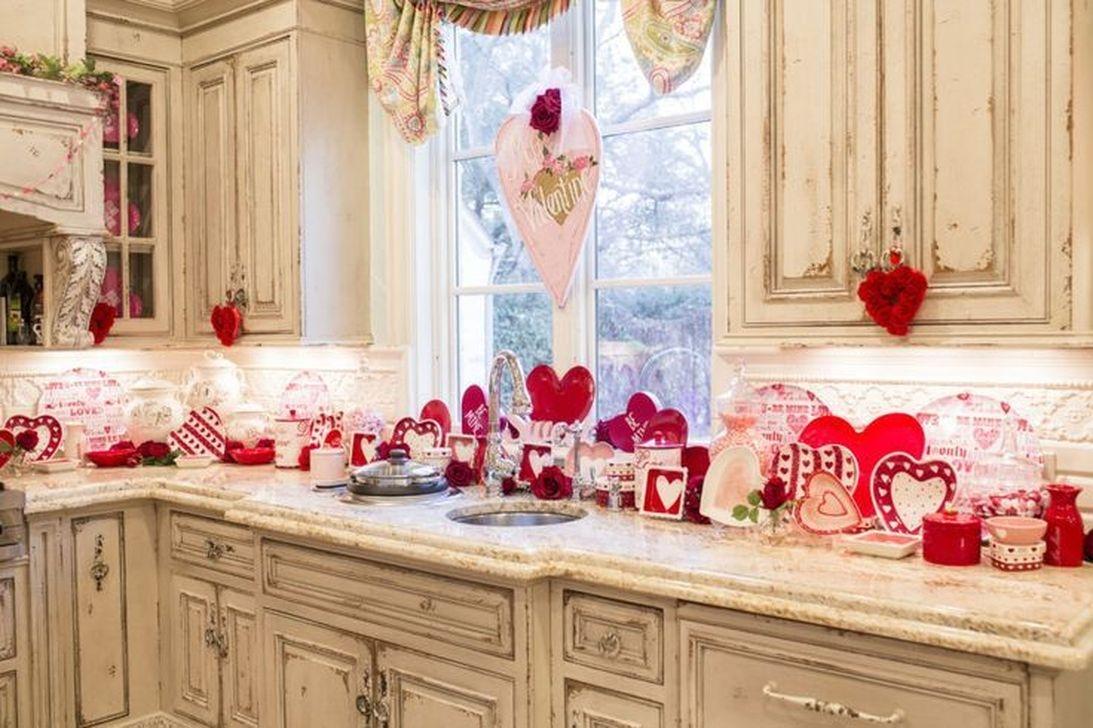 Totally Adorable Valentine Kitchen Decor Ideas 31