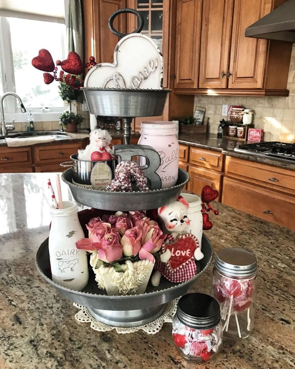 Totally Adorable Valentine Kitchen Decor Ideas 32