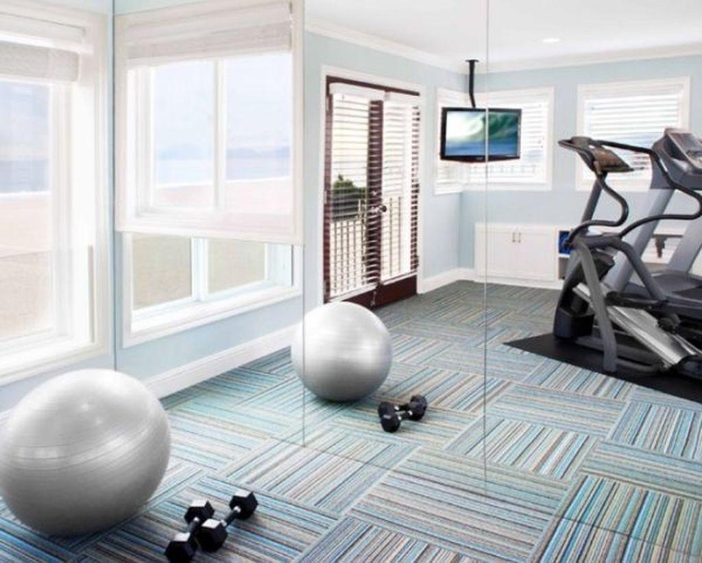 Amazing Home Gym Room Design Ideas 05