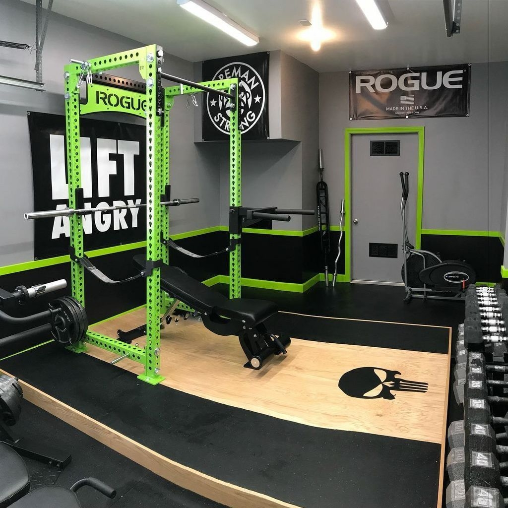 Amazing Home Gym Room Design Ideas 09
