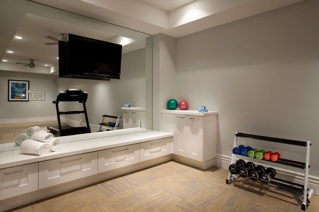 Amazing Home Gym Room Design Ideas 10