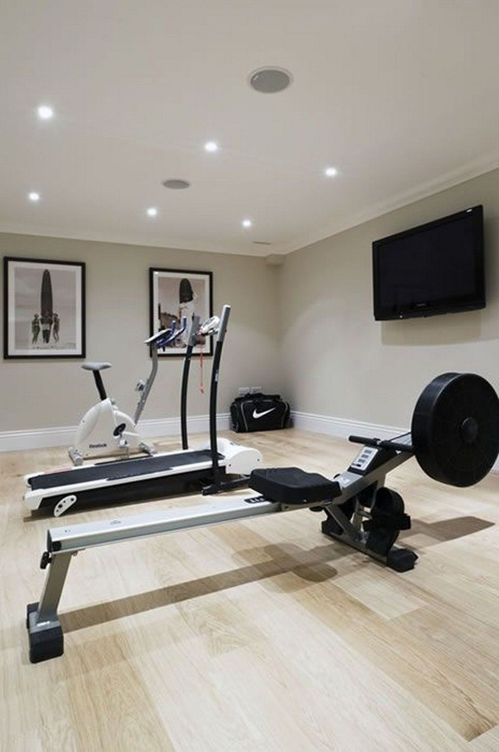 Amazing Home Gym Room Design Ideas 14