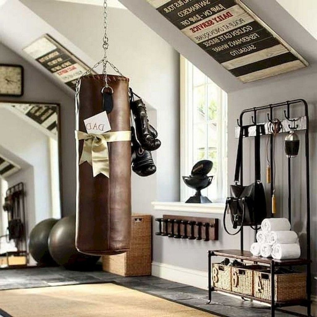 Amazing Home Gym Room Design Ideas 15