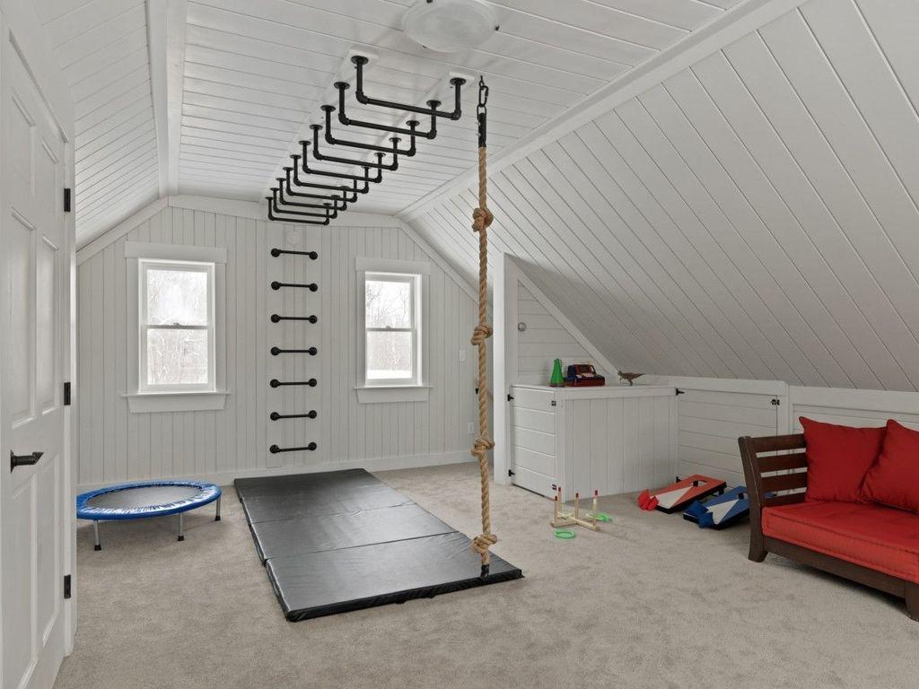Amazing Home Gym Room Design Ideas 17