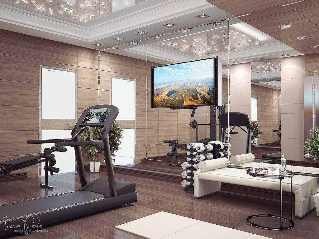 Amazing Home Gym Room Design Ideas 18