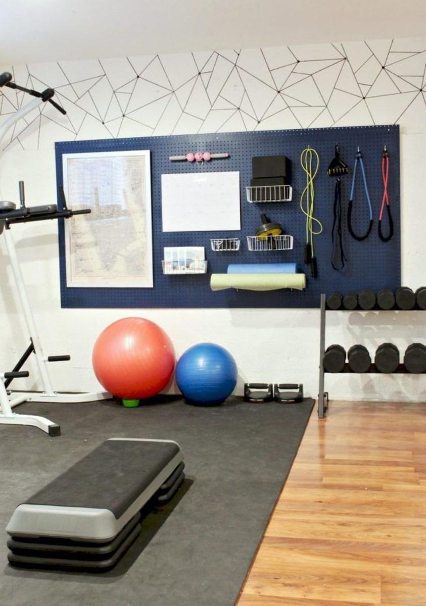 Amazing Home Gym Room Design Ideas 27