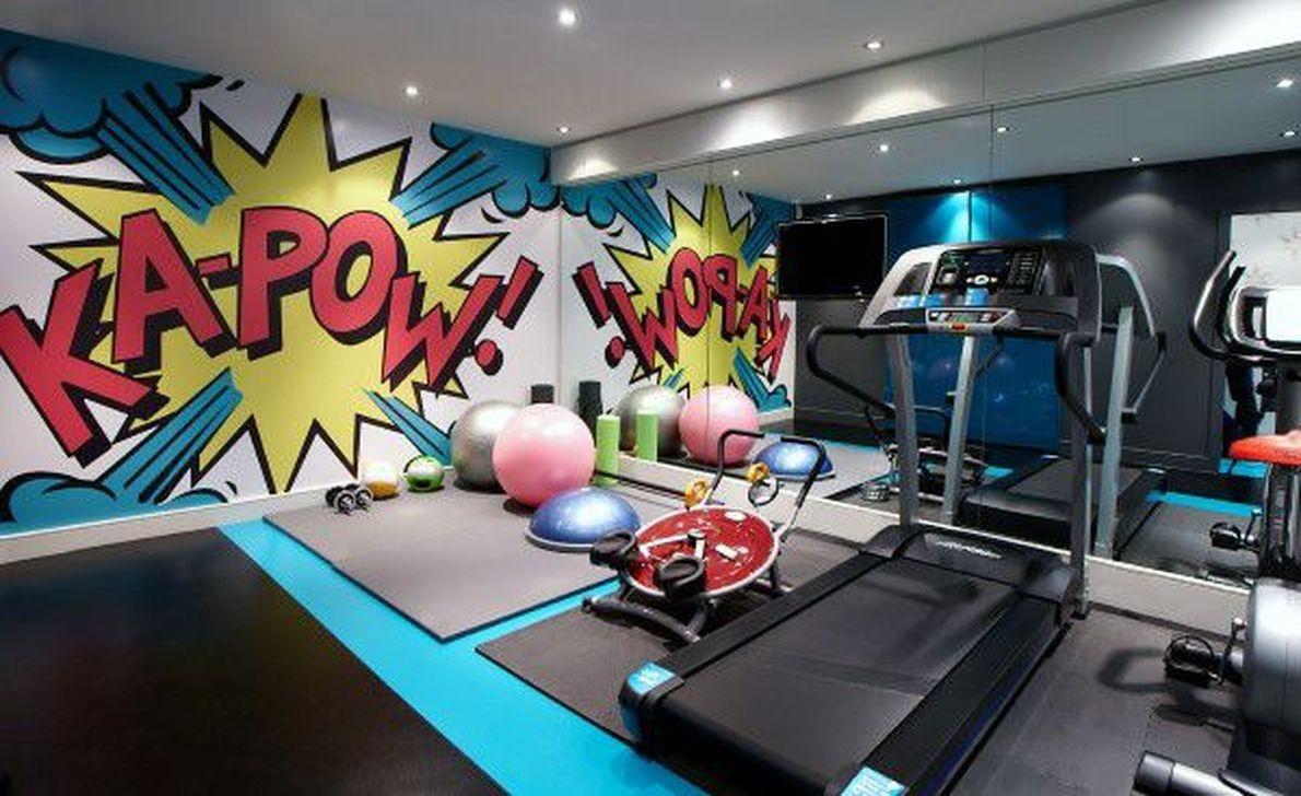 Amazing Home Gym Room Design Ideas 38