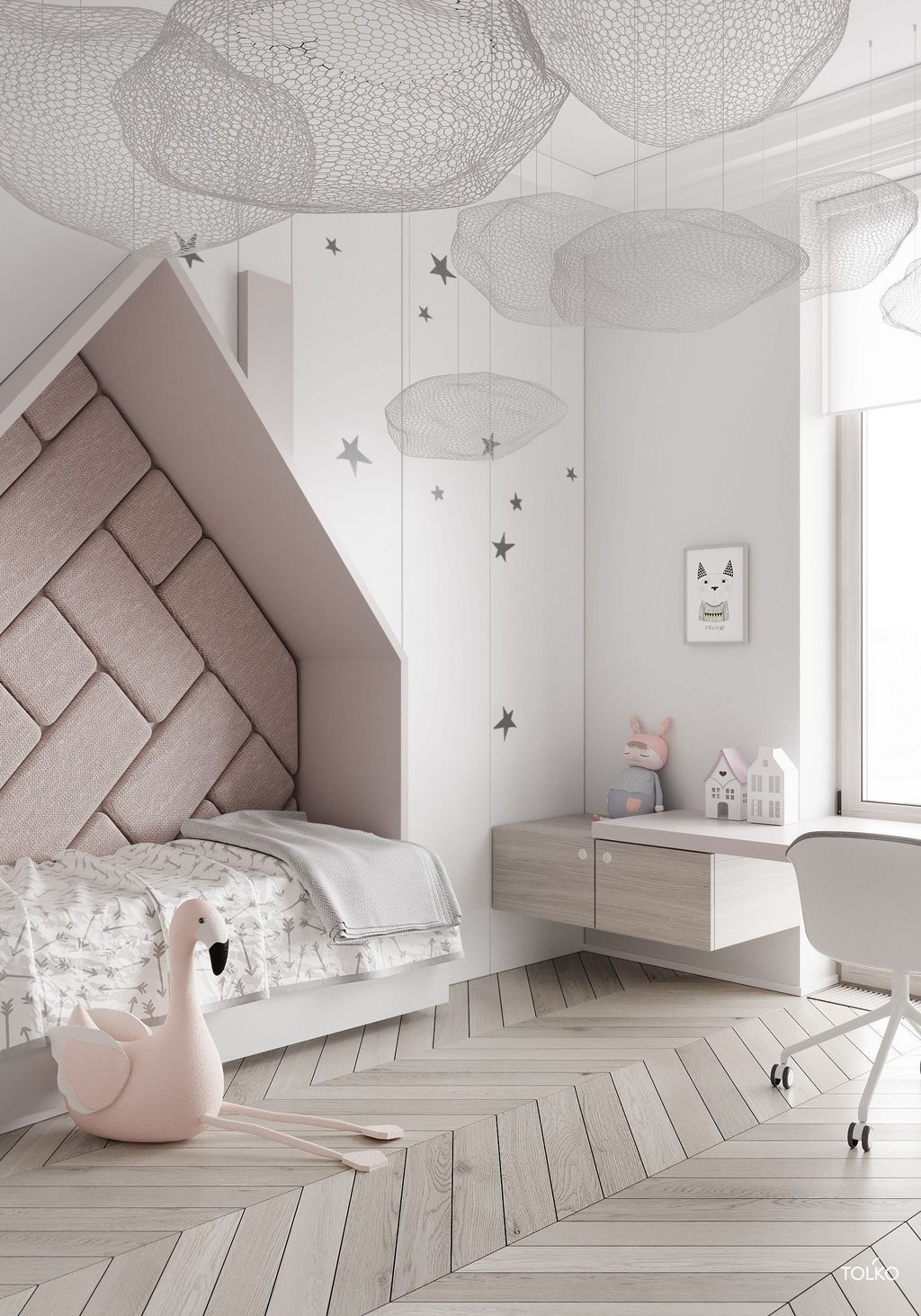 Inspiring Kids Room Design Ideas 14