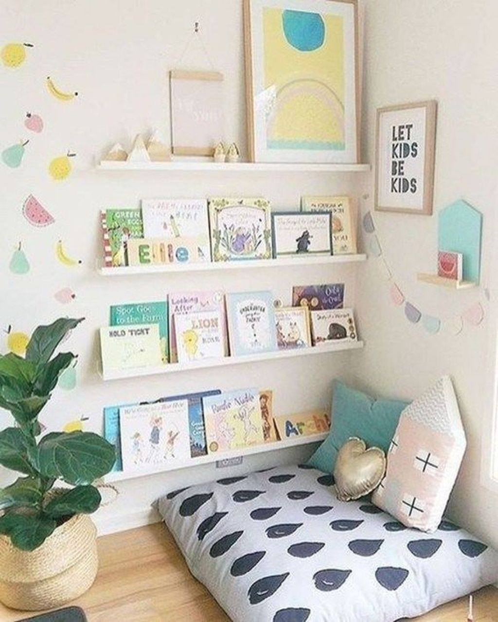 Inspiring Kids Room Design Ideas 29