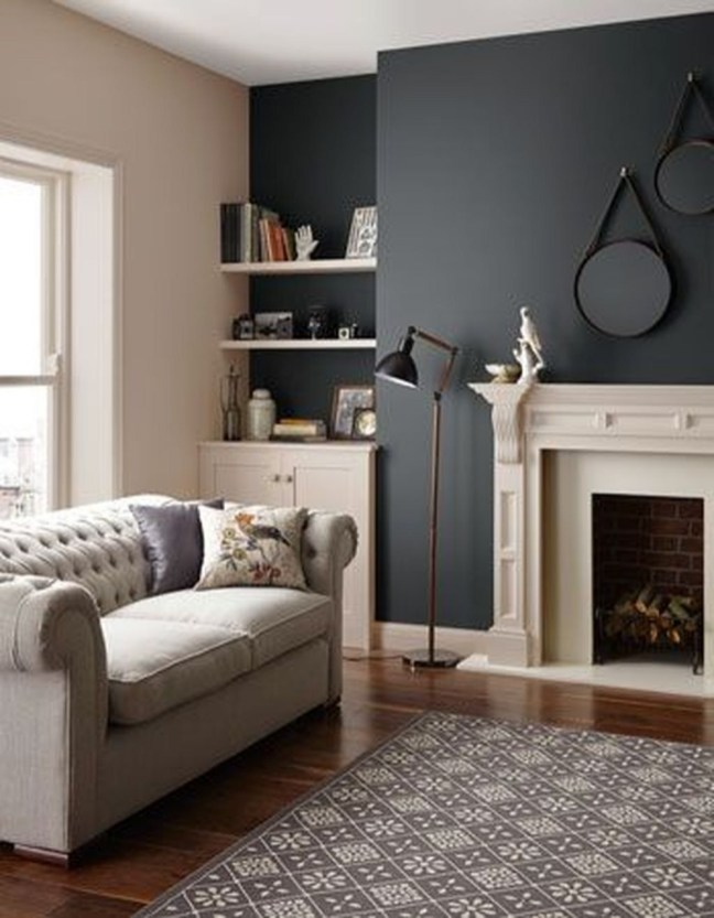 Lovely Modern Paint Color Ideas To Get Maximum Comfort 32